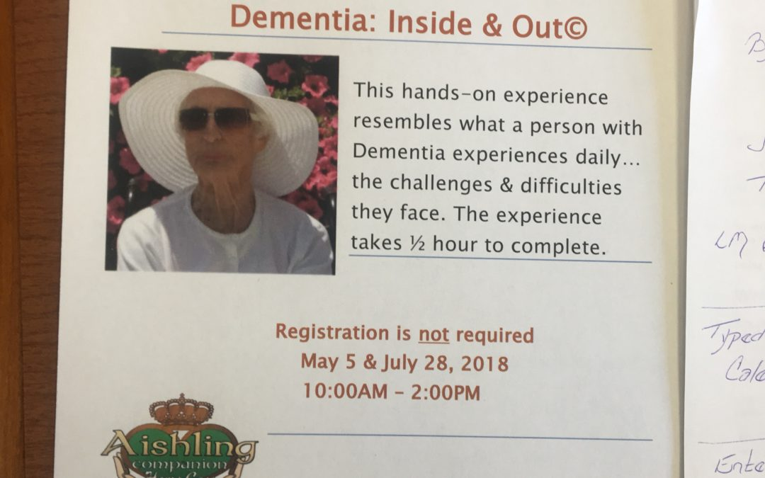 Dementia Experience